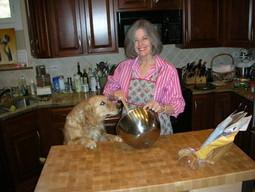 Elizabeth Berg in the Kitchen