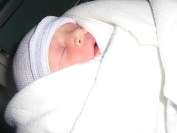 Picture of infant Katelyn Rose